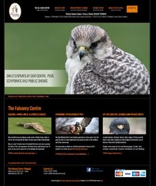 The Falconry Centre Design