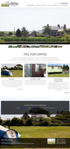 Pool Farm Camping Design