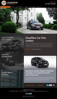 CDS Chauffeur Drive Services Design