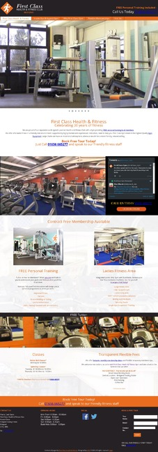 First Class Health & Fitness Design