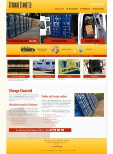 Stansted Self Storage Design